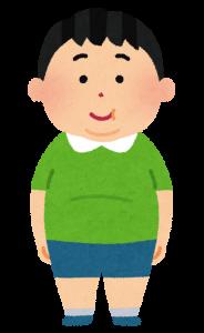 太った少年の画像