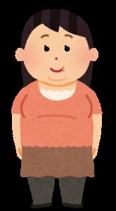 太った女性の画像