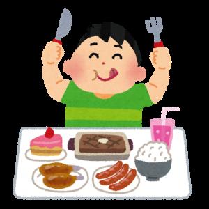 食いしん坊の画像