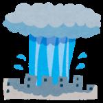「ゲリラ豪雨」を英語で何という?