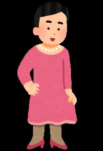 女装している人の画像