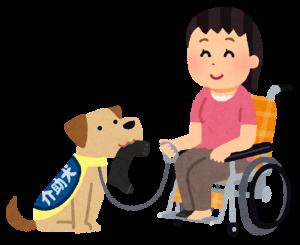 介助犬の画像