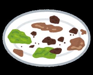 残飯の画像
