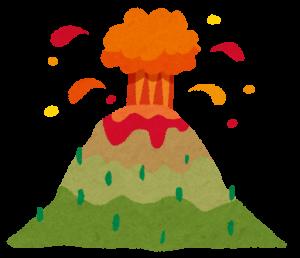 火山噴火の画像