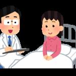 「入院する」を英語で何と言う?