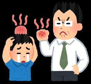 体罰の画像