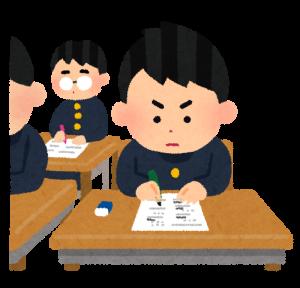 受験勉強の画像