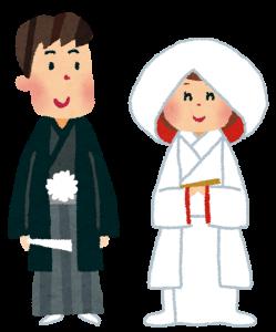 結婚する夫婦の画像