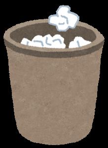 ゴミ箱の画像