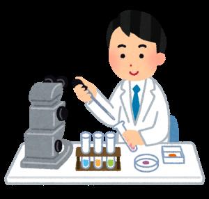 化学実験の画像