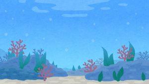 海中の画像