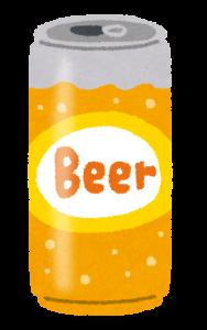 ビール缶の画像